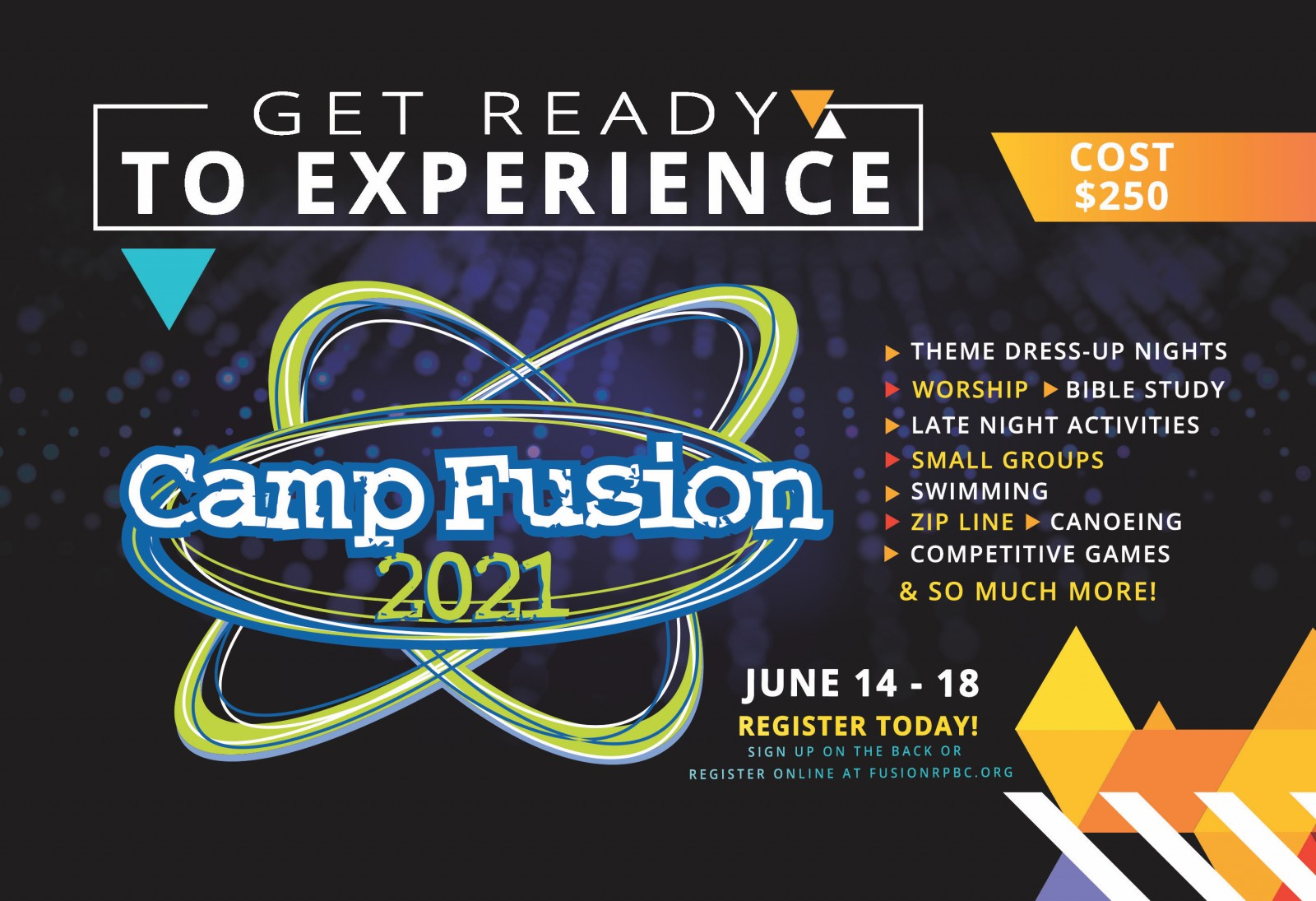 Camp Fusion Card Front
